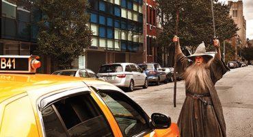 Stephen Colbert se convierte en Gandalf, Legolas y Bilbo