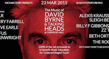 Homenaje a David Byrne con The Roots, Sleigh Bells, Beth Orton y más