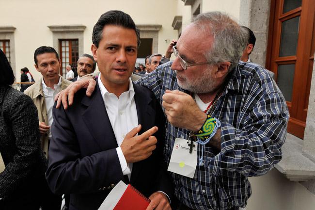 A EPN le falta corazón e inteligencia política: Javier Sicilia