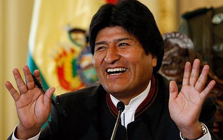 Evo Morales busca reelección para un cuarto mandato en Bolivia