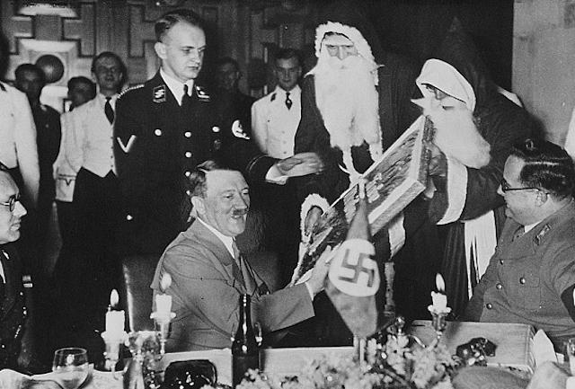 Cómo festejar una navidad a la Hitler