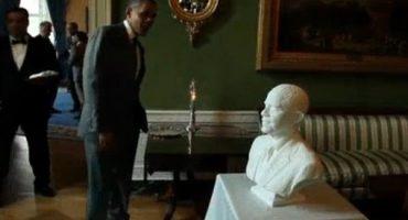 Video: Elaboración del busto de Barack Obama utilizando impresora 3D