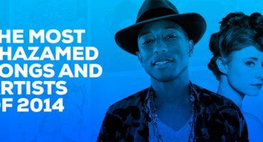 Los 10 artistas y canciones más descubiertos en Shazam
