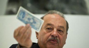 Bloomberg afirma que Slim ahora sólo es el 4º hombre más rico... ¡pobre!