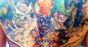 Los tatuajes más impactantes de Dragon Ball