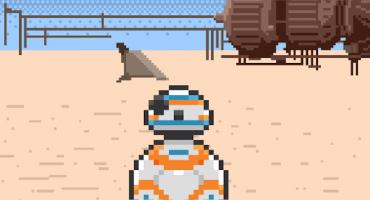 El trailer de Star Wars: The Force Awakens en 8 bits