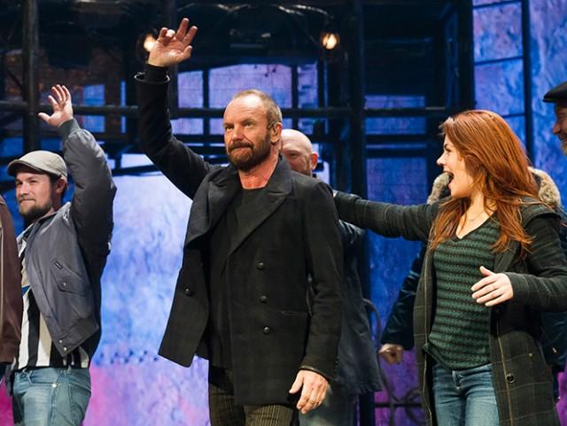 Fracasa el musical de Sting en Broadway
