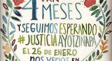 Estas son las rutas de la octava #AcciónGlobalPorAyotzinapa