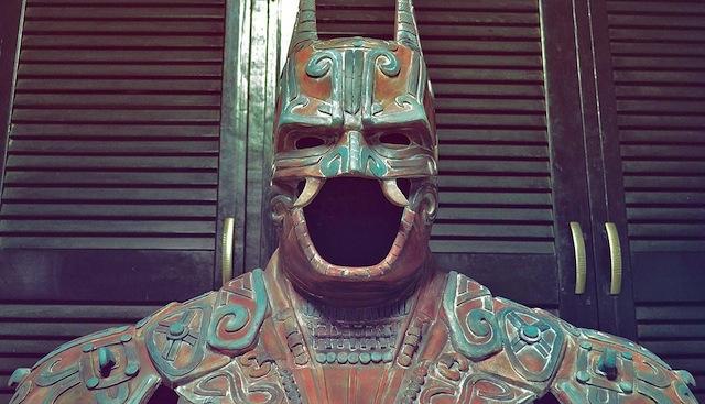 Regresa la exposición de Batman al Mumedi