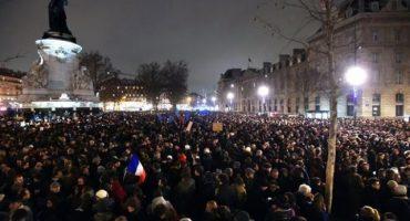 Increíbles fotografías en homenaje a Charlie Hebdo