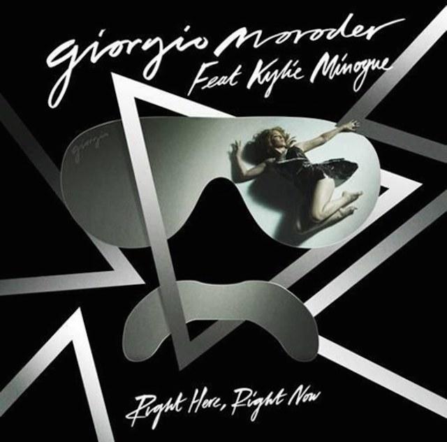 "Escucha ""Right Here, Right Now"", de Giorgio Moroder y Kylie Minogue"