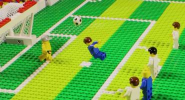 Los goles nominados al Puskas 2014... ¡hechos con Lego!