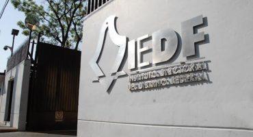 Todavía no se vota, pero IEDF ya prevé impugnaciones