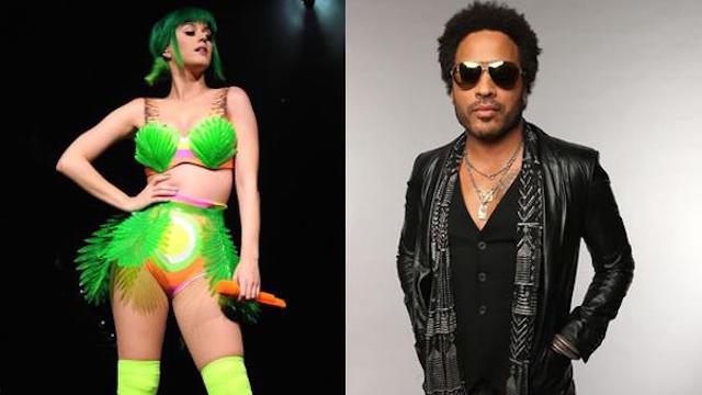 Lenny Kravtiz acompañará a Katy Perry en el show de MT en el Super Bowl XLIX