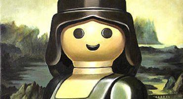 ¿Pinturas clásicas recreadas con playmobil?