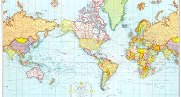 Así son los mapas en diferentes partes del mundo
