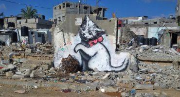Video: Banksy en Gaza