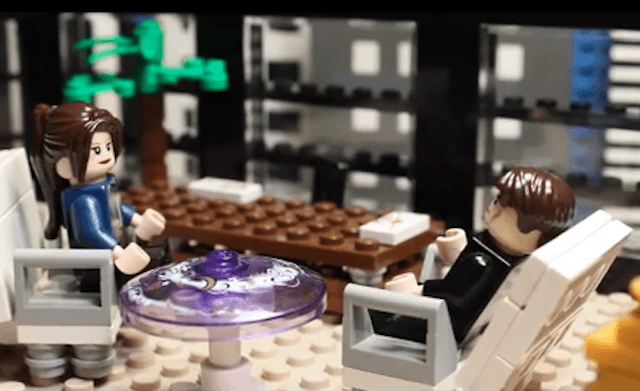 Fifty Shades of Grey + Legos = buena combinación