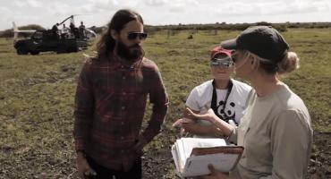 Jared Leto, ayuda a rinocerontes en África