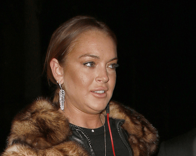 Lindsay Lohan, otra que abusa del botox