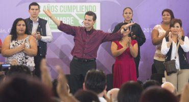 En Colima, ensayan porras para EPN: