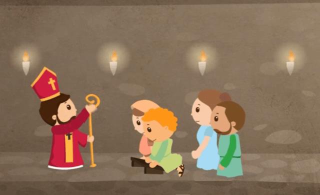 Esta animación explica la verdadera historia de San Valentín