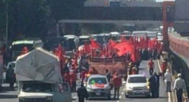Frente Popular Francisco Villa marcha sobre Tlalpan