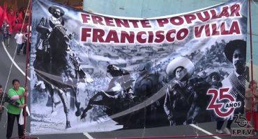 Bloquea Frente Popular Francisco Villa la elección de candidatos del PRD
