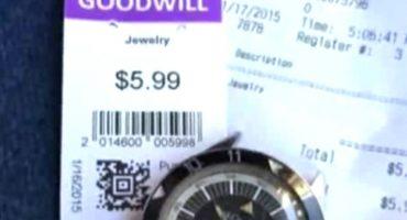 Compra reloj en menos de 6 dólares... lo vende en 35 mil