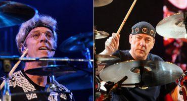 Los bateristas de Rush, The Police, Tool y Antemasque tocando juntos