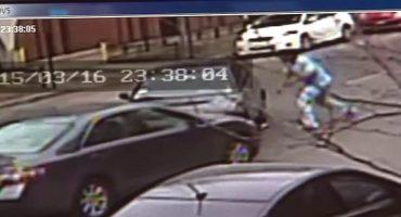 Este sujeto choca su Audi sólo para molestar a otro conductor