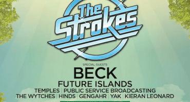 Mientras dormían, The Strokes anunció concierto con Beck en Hyde Park