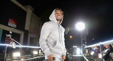 Kendrick Lamar dio un concierto sorpresa anoche en las calles de Los Angeles