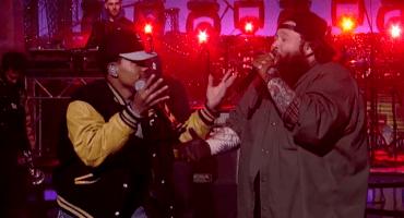 ¿Action Bronson y Chance the Rapper cantando en vivo