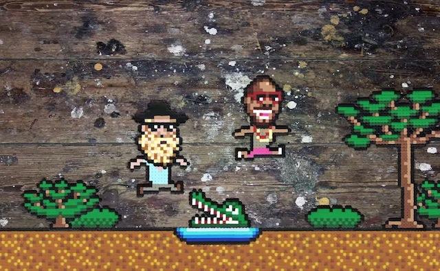 The Very Best se introduce a un videojuego de NES en el video de