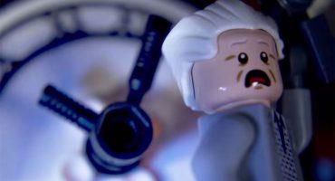 Nerdgasmo: escena de Back to the Future en LEGO