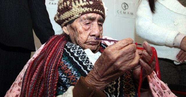 Muere Doña Leandra a los 127 años
