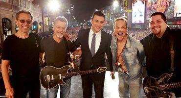 Van Halen debuta con David Lee Roth en el show de Jimmy Kimmel