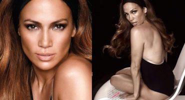 Así se ve Jennifer López sin Photoshop ¡Wow!