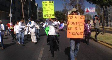 Gobierno del DF minimizó protesta en Mixcoac por árboles