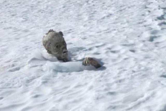 Encuentran otra momia durante rescate en el Pico de Orizaba