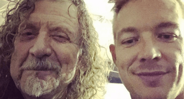 Robert Plant y Diplo preparan colaboración