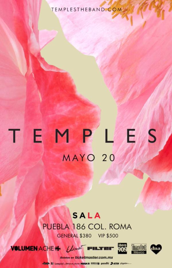 Temples en México y Guadalajara