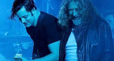 Jack White palomea con Robert Plant en Argentina