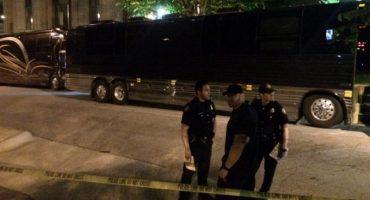 El autobus de Lil Wayne fue baleado, no hay heridos.