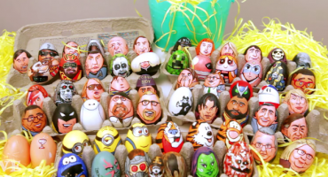 Desde David Bowie hasta los Guardianes de la Galaxia en estos 62 huevos de pascua