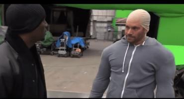 Checa a Paul Walker imitando a Vin Diesel en el set de R&F7