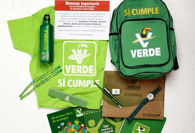 INE frena entrega de kits escolares del Verde... por anti ecológicos
