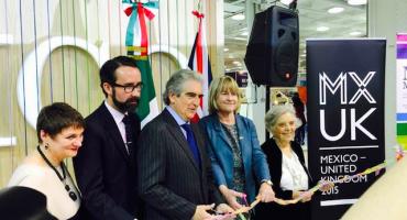 Y en la imagen del día... México en la Feria del Libro de Londres