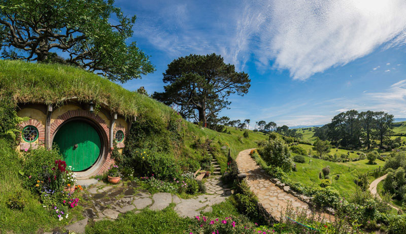 ¡Hobbiton existe de verdad! Estas fotos te harán querer tomar un avión a Nueva Zelanda